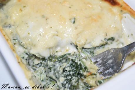 Lasagnes épinard, ricotta et chèvre