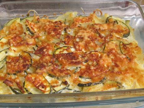 gratin courgettes/pommes de terre/ricotta