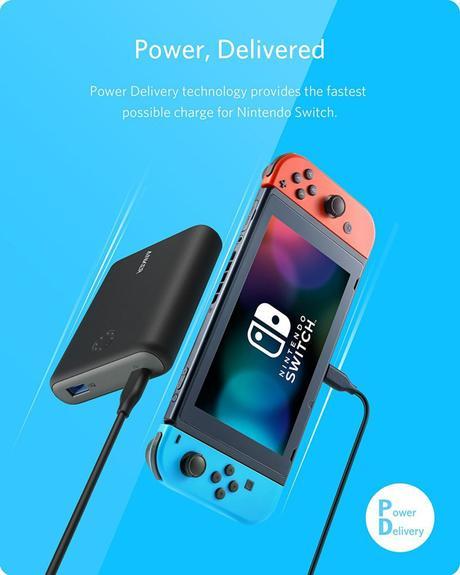 Anker a crée deux batteries externes pour les gros joueurs de Nintendo Switch.