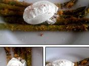 Asperges panées poivre blanc