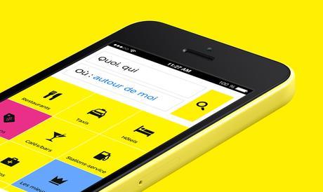 PagesJaunes : Le nouvel itinéraire débarque sur sur iPhone