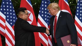 Les dessous de la « love affair » entre Trump et Kim.