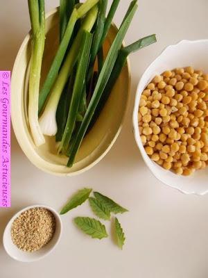Salade de Pois chiches (Vegan)