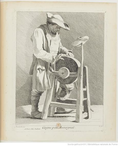 Edmé Bouchardon - Les Cris de Paris : Dessins et gravures (2)