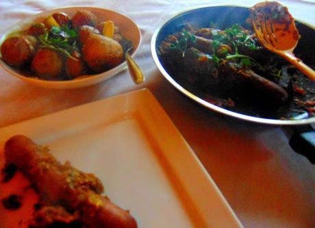 Saucisses à la tartinade d'aubergines