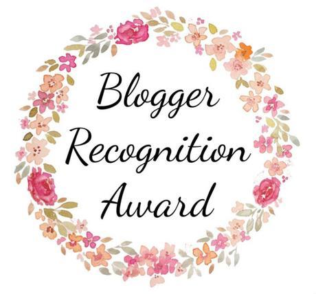Blogger recognition award, episode 3 ou 4…