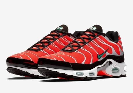 Nike Air Max Plus Orange Teal preview