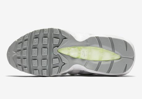 Nike remixe le coloris OG Neon sur une Nike Air Max 95 SE