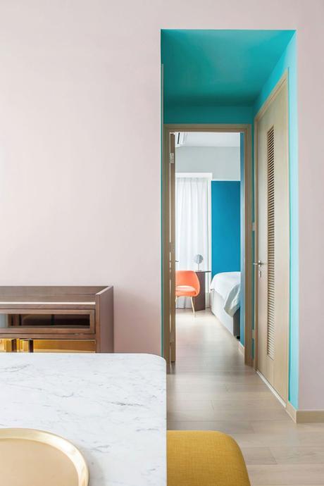 Un appartement à la déco fantaisiste à Hong-Kong