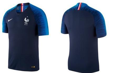 Le maillot officiel pour soutenir l'Equipe de France pendant la Coupe du Monde 2018