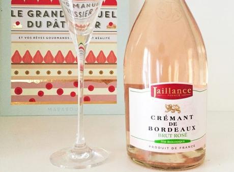 Crémant de bordeaux brut rosé signé Jaillance