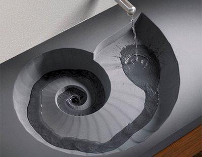 nouveaut s high tech lavabo spiral paperblog. Black Bedroom Furniture Sets. Home Design Ideas