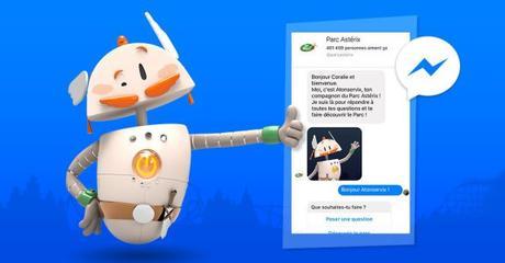 Le Parc Astérix présente « Atonservix », son nouveau chatbot conçu pour faciliter les visites