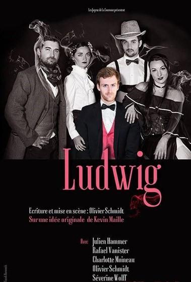 Ludwig, le roi perché, une pièce d'Olivier Schmidt. Au Festival d'Avignon cet été.