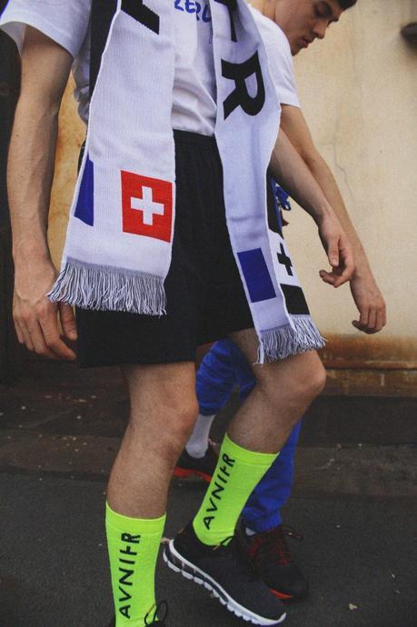 Avnier organise un pop up store en partenariat avec Asics à Vevey en Suisse
