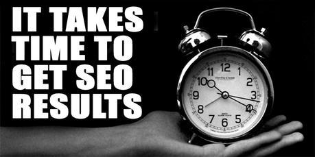 Pourquoi SEO prend beaucoup de temps pour avoir des résultats ?
