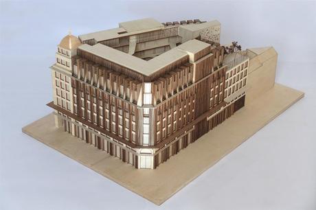 PIETONNIER : L'ancien immeuble Actiris devient «The Dome»