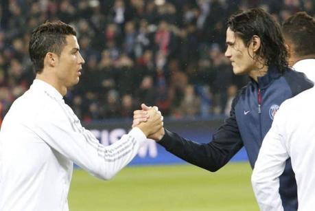 Cavani et Ronaldo
