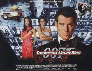 Le James Bond: Tomorrow never dies (Ciné)
