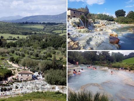 La Toscane : Cascate del mulino à Saturnia
