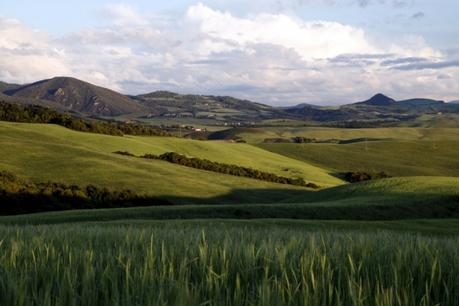 La Toscane : les collines verdoyantes
