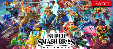 [E3'18] Super Smash Bros. Ultimate dévoilé sur Switch !