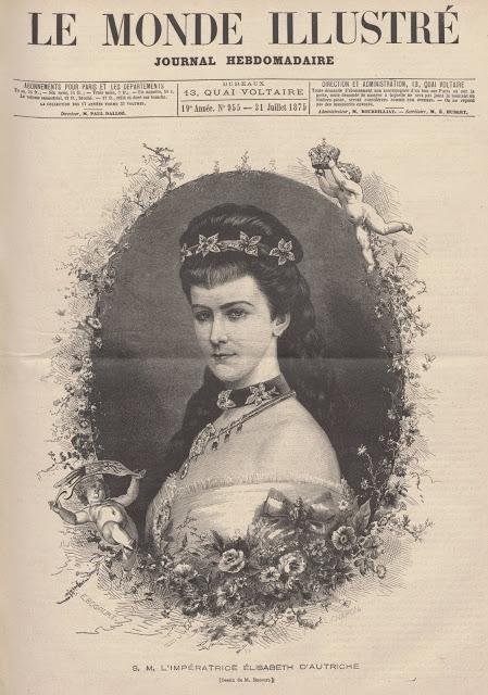 L'Impératrice d'Autriche en Normandie. Souvenirs de 1875 par Ernest Daudet (1)