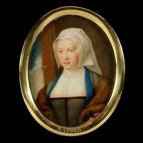 MACPHERSON - Portraits d'artistes peints sur ivoire