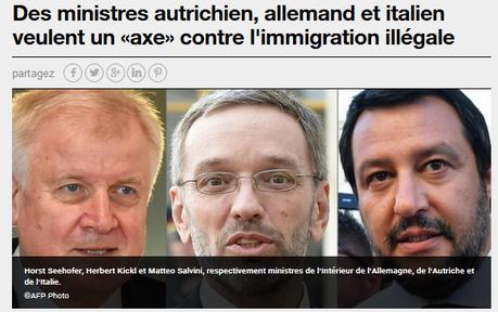 #Immigration : face à l'axe du mal, l'urgence d'une riposte #antifa