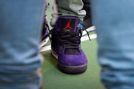 Air Jordan 4 Purple Suede