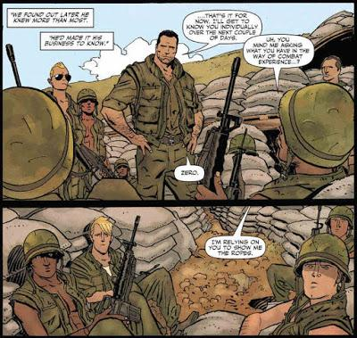 PUNISHER LA SECTION (THE PLATOON) : ENNIS ET PARLOV REJOUENT LE VIETNAM