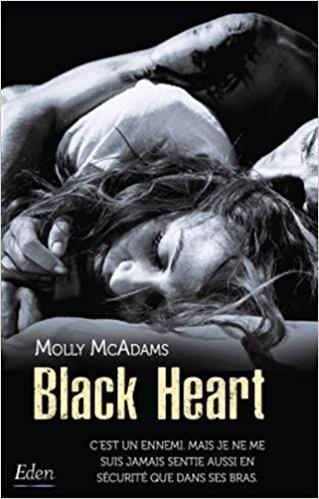 A vos agendas: Découvrez Black Heart de Molly McAdams