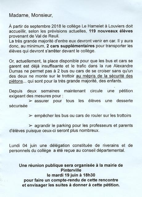 Fermer le collège Mendès France a forcément des conséquences sur les autres établissements de l'agglomération Seine-Eure