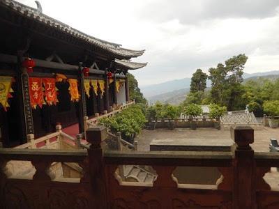 Les temples de la montagne de Wei Bao Shan : Nanshao Patron God Temple