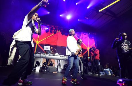 Recap : adidas invite Migos et Pharrell pour le lancement de la P.O.D