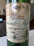 Nombreuses bouteilles à commenter