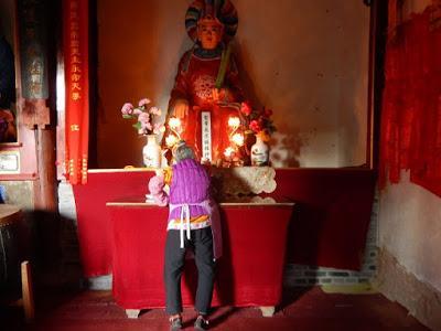 Wenchang Palace, un temple de la montagne Wei Bao Shan