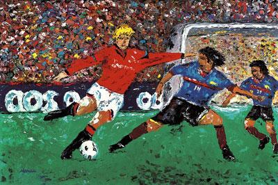 C'est la coupe du monde du football. Vous ne le saviez pas ?