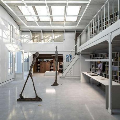 Ouverture de l'Institut Giacometti à Paris
