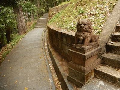 Le temple de la déesse Doumu, Déesse des étoiles, la Mère du Boisseau