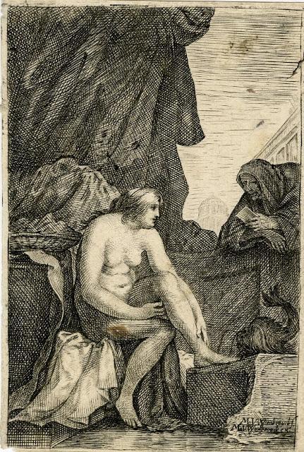 Bethsabée dans le bain du British Museum