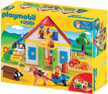 Les playmobil 1 2 3 spécialement conçus pour les enfants de moins de 3 ans