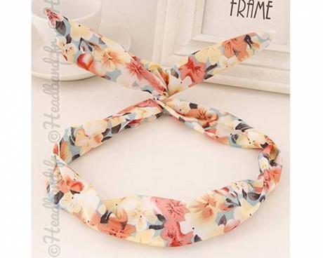 Mon joli headband...(avec un joli cadeau pour vous !)