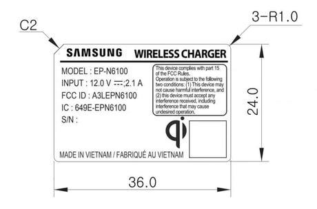 Samsung prépare un nouveau chargeur sans fil.