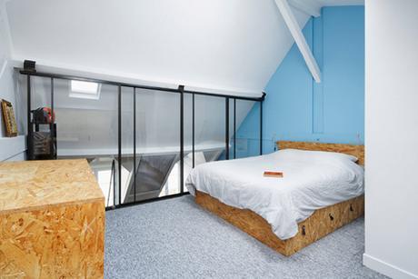 Under the Roof : Un magnifique loft à Paris rénové par Florent Chagny Architecture