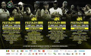 Festa2h à Dakar : 30 ans de hip-hop