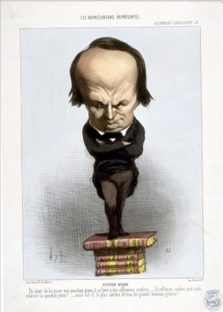Exposition « Caricatures. Hugo à la Une »