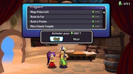Test de Shantae: Half Genie Hero Ultimate Edition DAY ONE EDITION sur PS4