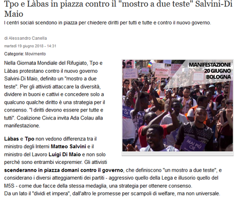 En #Italie, bientôt une étoile jaune pour les #roms ? #racisme