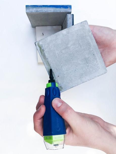 tutoriel fabriquer cache pot diy carreaux de ciment - Blog déco - Clemaroundthecorner